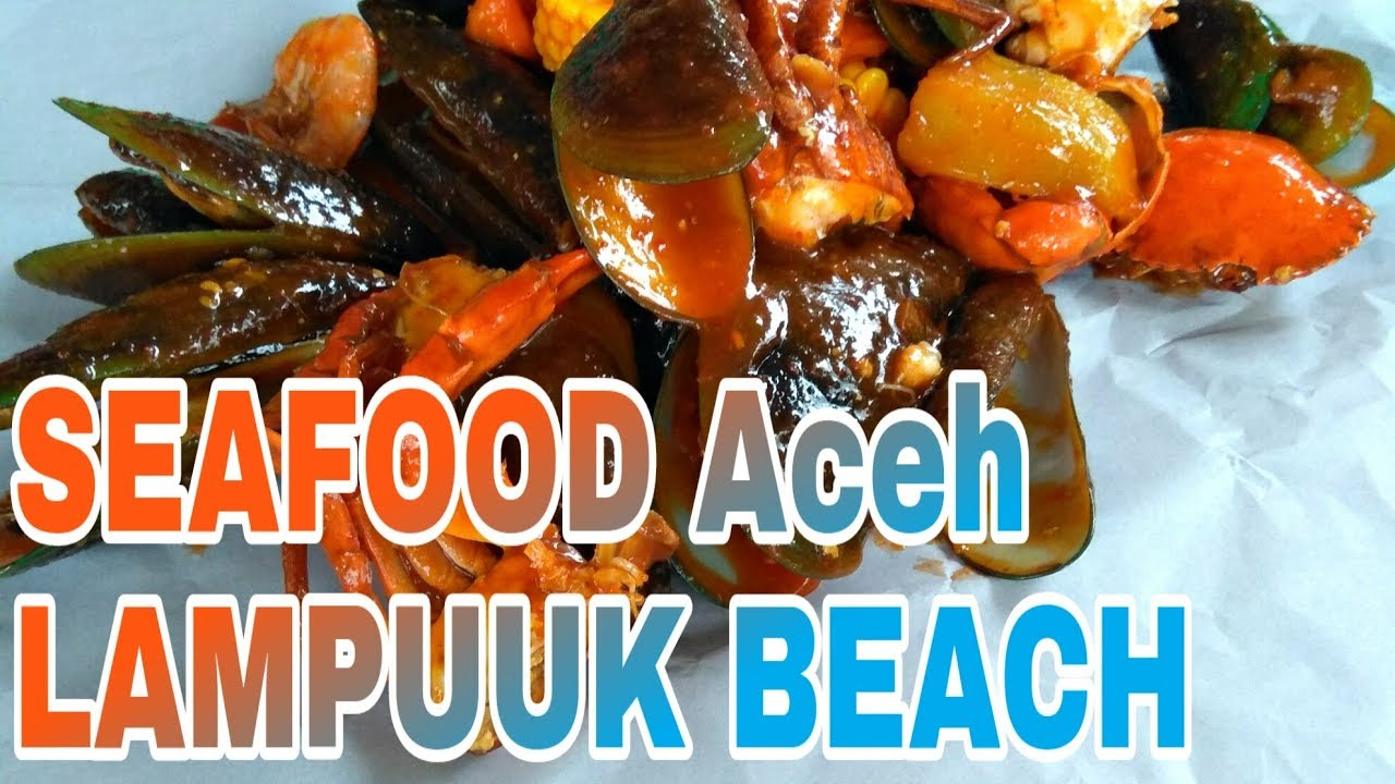 Mister Crab Lampuuk Beach Makanan Seafood Aceh