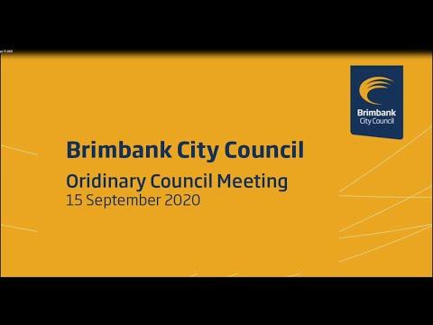 Brimbank City Council Ordinary Council Meeting - 15 September 2020