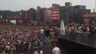Tomorrowland 2012 Knife Party Rage Valley Jumping