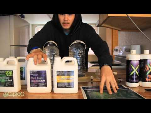 Grow Vlog Day 29 Cleaning Airstone, Unboxing, Nutrient feeding