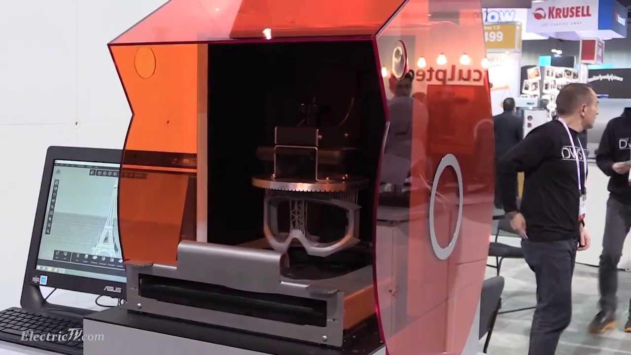 Xfab sla 3d laser printer by dws labs ces 2014 youtube - 3d printer italia ...