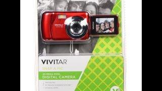 Vivitar Vxx14 Digital Camera review Good Starter Youtube Camera $39.99 Walmart budget section