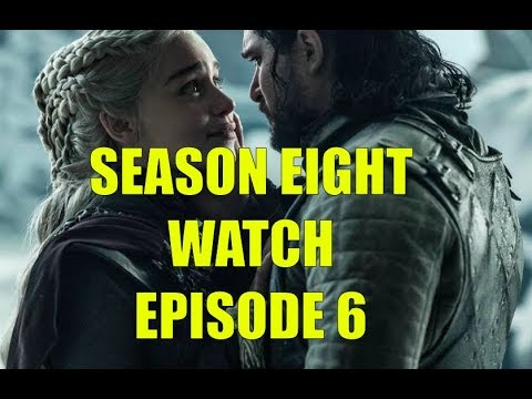 Preston's Game of Thrones Season Eight Watch - Season 8 Episode 6 The Iron Throne Review