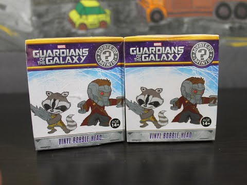 GUARDIANS OF THE GALAXY - FUNKO BLIND BOX UNBOXING