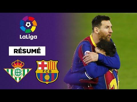 Résumé : Avec une merveille de Trincao, le FC Barcelone s'offre le Real Betis !