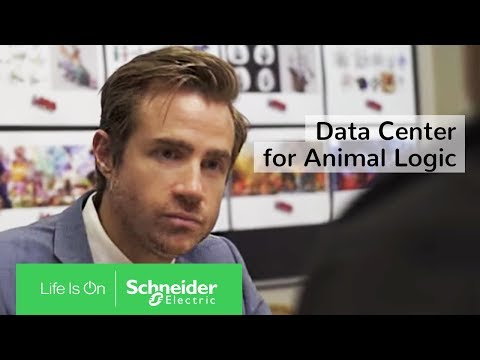 IoT Enabled EcoStruxure™ Ensures Efficiency for Animal Logic