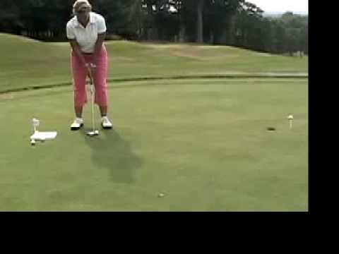 Christine M Reuss – Golf Instruction Tip – Putting (Face On View)