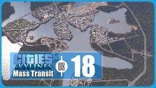 [FR] Cities Skylines Mass Transit – 18 – Zone industrielle sud et énormes travaux routiers