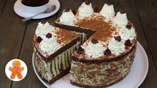Торт 'Мелодия' очень красивый и вкусный ✧ 'Melody' Cake (English Subtitles)
