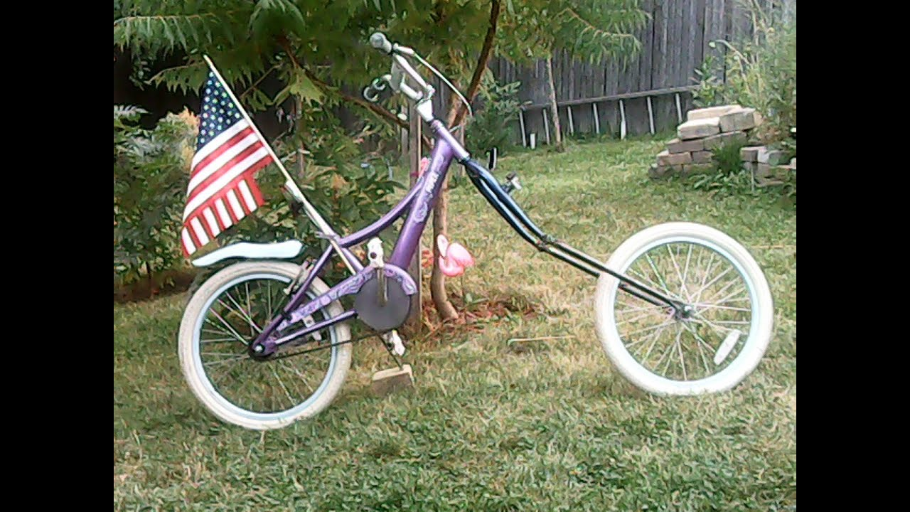 Build Make Own Chopper Forks For Lowrider Bicycle Or Electric