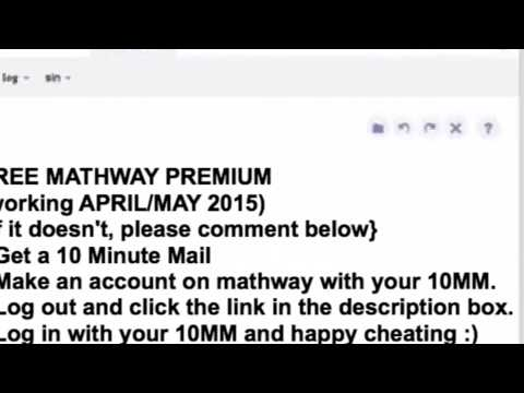 FREE MATHWAY PREMIUM WORKING! (NOT PATCHED) APRIL/MAY 2015 ... on