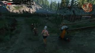 Witcher 3 - The Wild Hunt - Naked Ciri (Sauna)