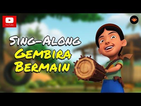 Upin & Ipin - Gembira Bermain [Sing-Along][HD]
