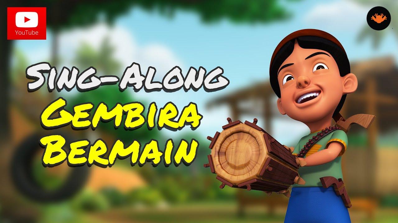 Upin Ipin Gembira Bermain Sing AlongHD YouTube