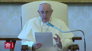 "Pope Francis: ""Faith calls us to fight indifference"""