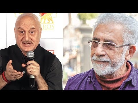 Anupam Kher REACTS On Naseeruddin Shah's CONTROVERSIAL Statement