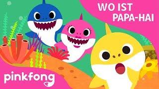 Wo ist Papa Hai? | Baby Hai | Pinkfong Lieder für Kinder