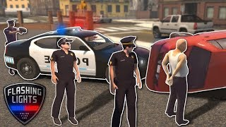 INEXPERIENCED POLICE CHASE! - Flashing Lights Multiplayer Gameplay - Emergency Services Sim