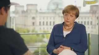 """Merkel: """"Ich möchte keine Araber in Deutschland"""" !!!"""