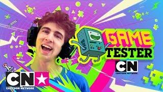 Jake vs Favij | Game Tester | Cartoon Network