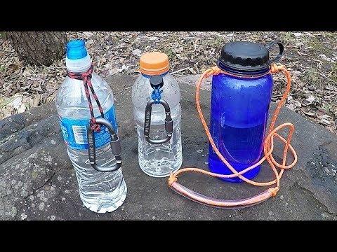 Make It: Water Bottle Straps for Around $1 3 Easy Designs