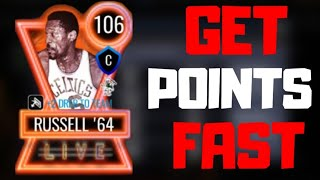 HOW TO GET LIVE PASS POINTS FAST IN NBA LIVE MOBILE 20!!!
