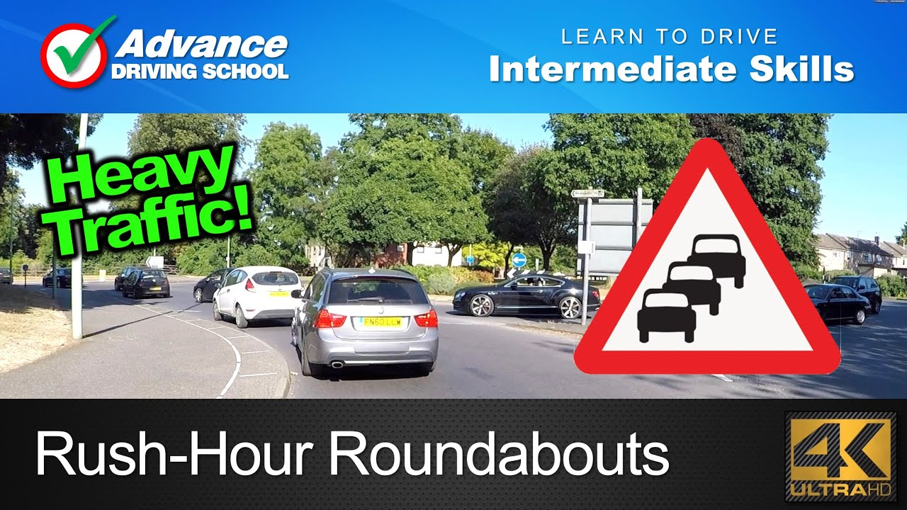 Rush-Hour Roundabouts | Learn to drive: Intermediate ...