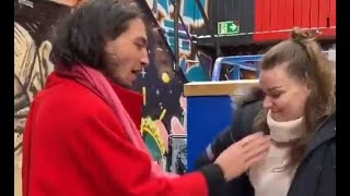 Video Of Ezra Miller Ch0king & Slamming Fan Girl! The Flash Goes Full Crazy!