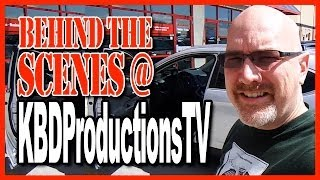 KBDProductionsTV Behind the Scenes - The Food Reviewers Car