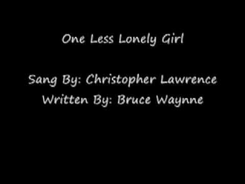 "Chris Lawrence - ""Lonely Girl"" (Original Cover)"