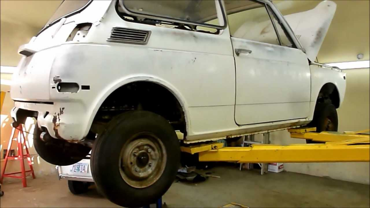 Honda N600 With Motorcycle Engine Project Report Now Has New