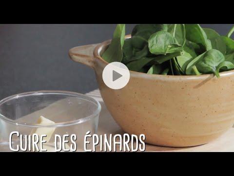 comment-cuire-des-épinards?