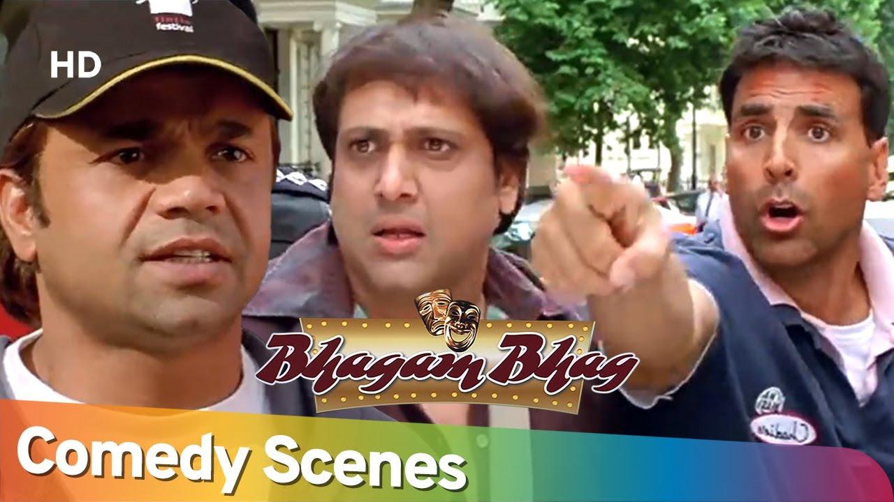Download BHAGAM BHAG | Best of Comedy Scenes Compilation of Superhit Movie | Rajpal Yadav - Akshay Kumar
