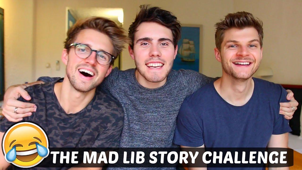 The Mad Lib Story Challenge Youtube Linkis Com