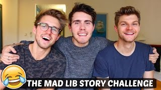THE MAD LIB STORY CHALLENGE