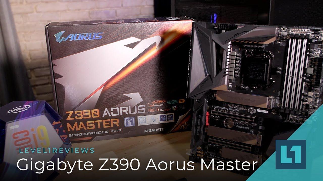 Gigabyte Z390 Aorus Master Review + Linux Test