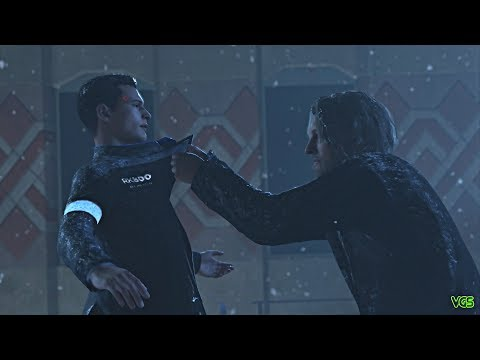 Detroit: Become Human - Hank Kills Connor to Protect Markus and the Android Rebellion