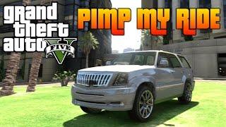 GTA V - Pimp My Ride #97 | Albany Cavalcade (Cadillac Escalade) | Car Customization!