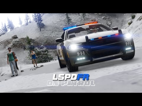 LSPDFR - Day 54 - Snow Mountain Patrol