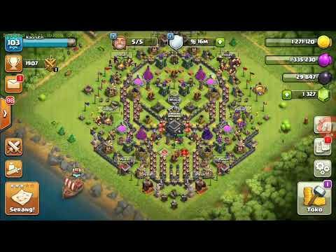 Base Coc Th 8 Gambar Tengkorak 3