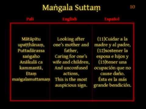 Mangala Sutta Paritta