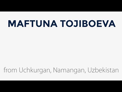 Holiday Traditions featuring Maftuna Tojiboeva from Uchkurga