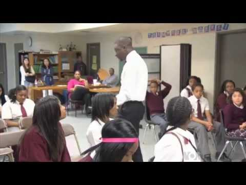 Voice of American TV Series on Immigration : The New Face Of America Part 8. Thione Niang