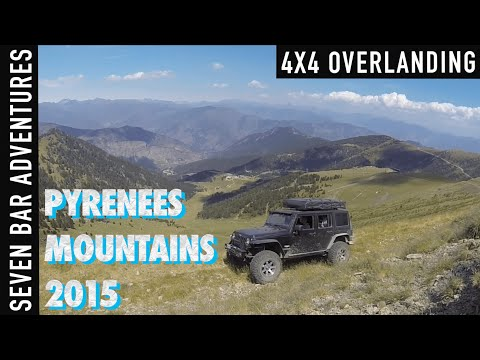 4x4 Expedition Pyreneerna 2015