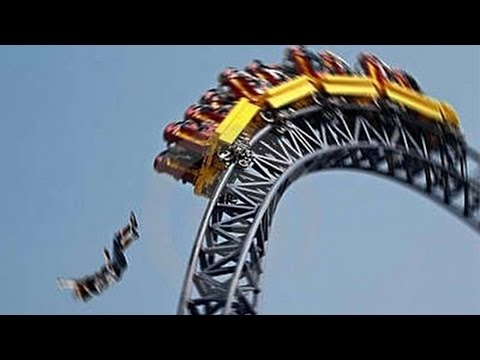 4 Teens Crushed On Roller Coaster – Shocking Accident