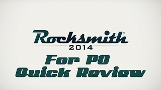Rocksmith 2014 For PC Overview