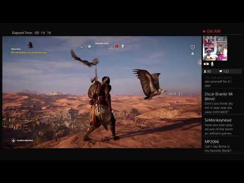 Assassin's Creed Wacky Egyptian Adventure Stream