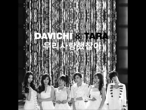 T-ara & Davinchi - We used to love (We were in love) 우리 사랑했잖아  [AUDIO]