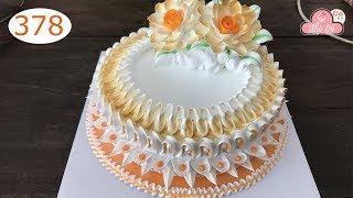 chocolate cake decorating bettercreme vanilla (378) Học Làm Bánh Kem Đơn Giản Đẹp - Cam Nhẹ (378)