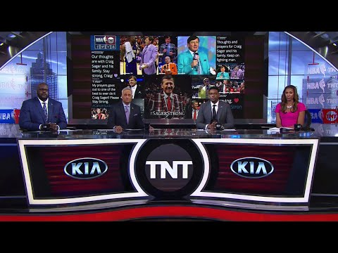 [Ep. 22/15-16] Inside The NBA (on TNT) Partial Full Episode – Craig Sager's Fight with Cancer